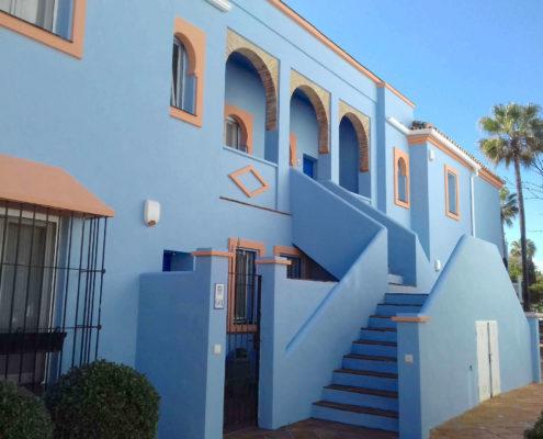 Trabajos destacados de pintura y reparación de fachadas