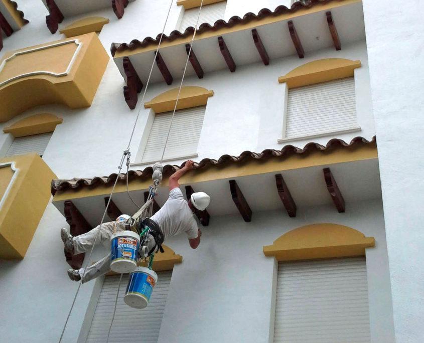 Trabajos verticales en Marbella
